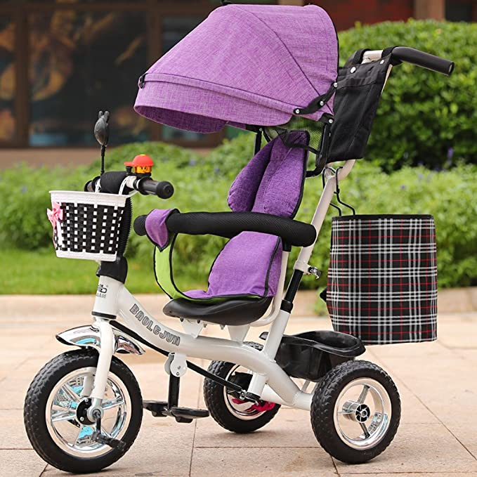 SwinX Multifuncional Triciclo Infantil Carrito de bebé 1-6 ...