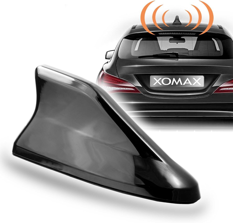 XOMAX de dat04 Tiburón nevera Antena de coche para GPS, DAB +, AM ...