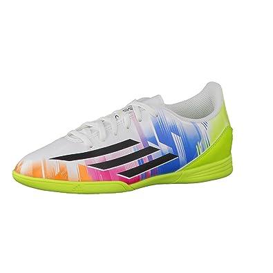 Adidas Zapatillas Fútbol Sala Guantes F5 Fútbol en Niños (Messi) Runwht/Black, Color, Talla 34: Amazon.es: Zapatos y complementos
