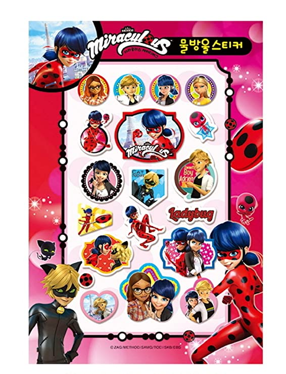 Miraculous Ladybug - Libro de Pegatinas: Amazon.es: Juguetes ...