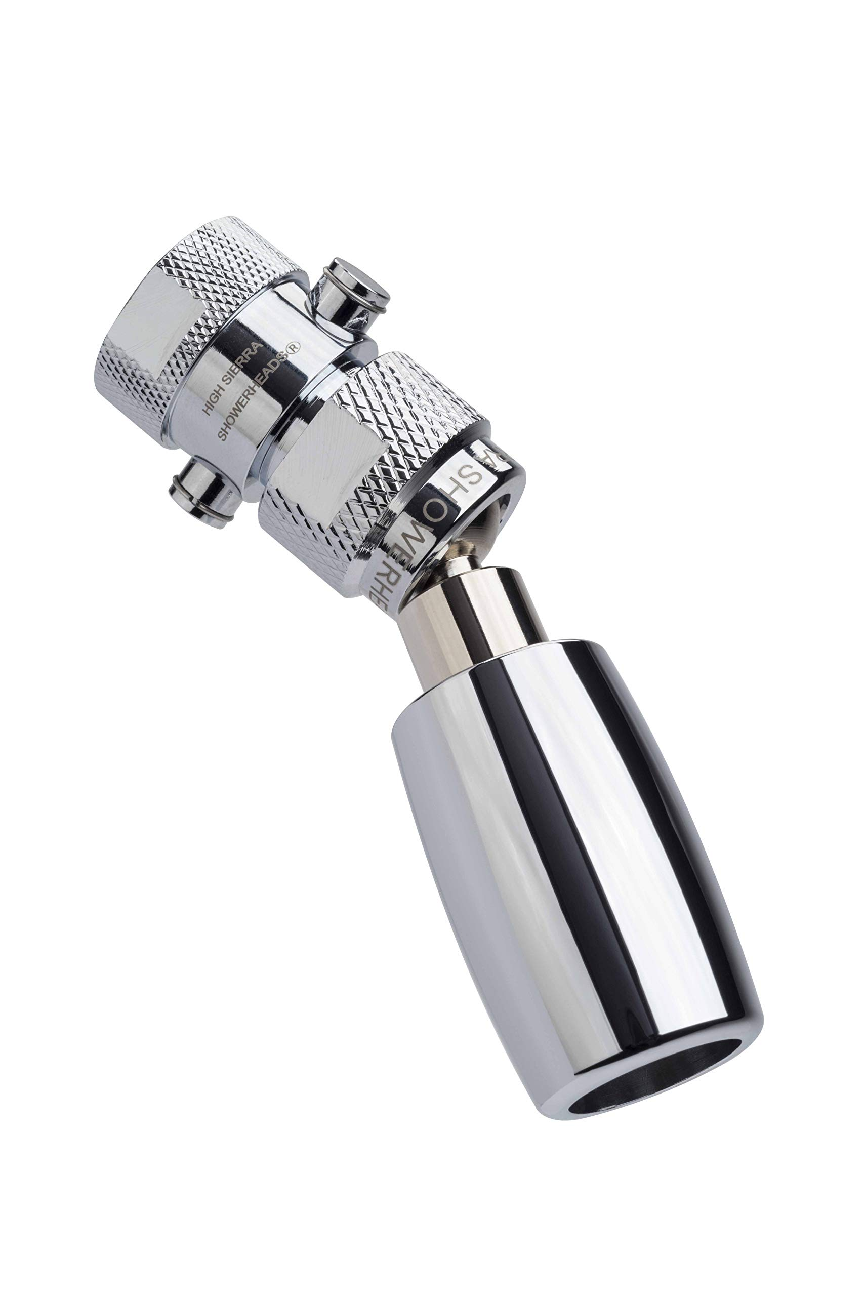 High Sierra's All Metal WaterSense Certified 1.8 GPM High Efficiency Low Flow Showerhead with Trickle Valve. Available in: CHROME, Brushed Nickel, Oil Rubbed Bronze, or Polished Brass