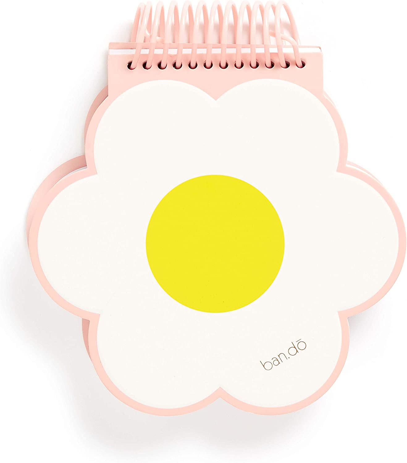 """ban.do Super Fun Notebook, 6"""" x 5.85"""" with 100 Sheets, daisy"""