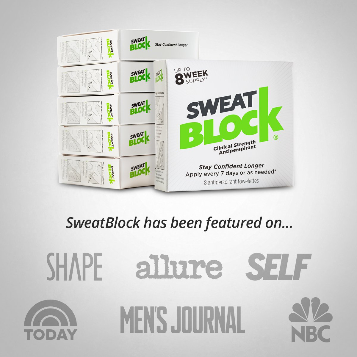SweatBlock Antiperspirant - Clinical Strength - Reduce Sweat up to 7-days per Use by SweatBlock (Image #4)