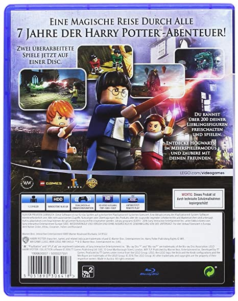 Lego Harry Potter Collection Playstation 4 Amazonde Games