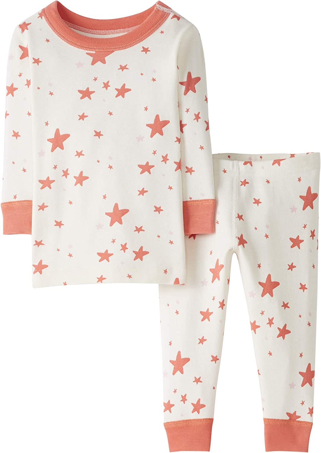 Moon and Back by Hanna Andersson Baby//Toddler 2 Piece Long Sleeve Pajama Set