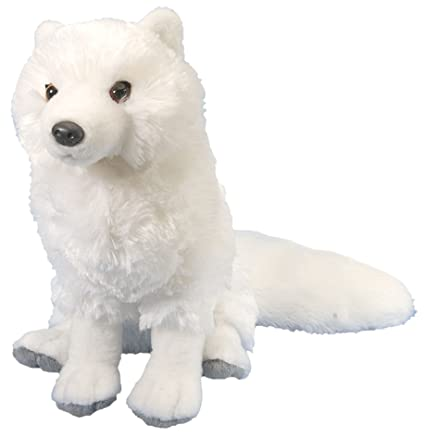 Amazon Com Wild Republic Arctic Fox Plush Stuffed Animal Plush