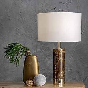 "nuLOOM Home SAT19AA Corbin Table Lamp, 23"" Height, Black"