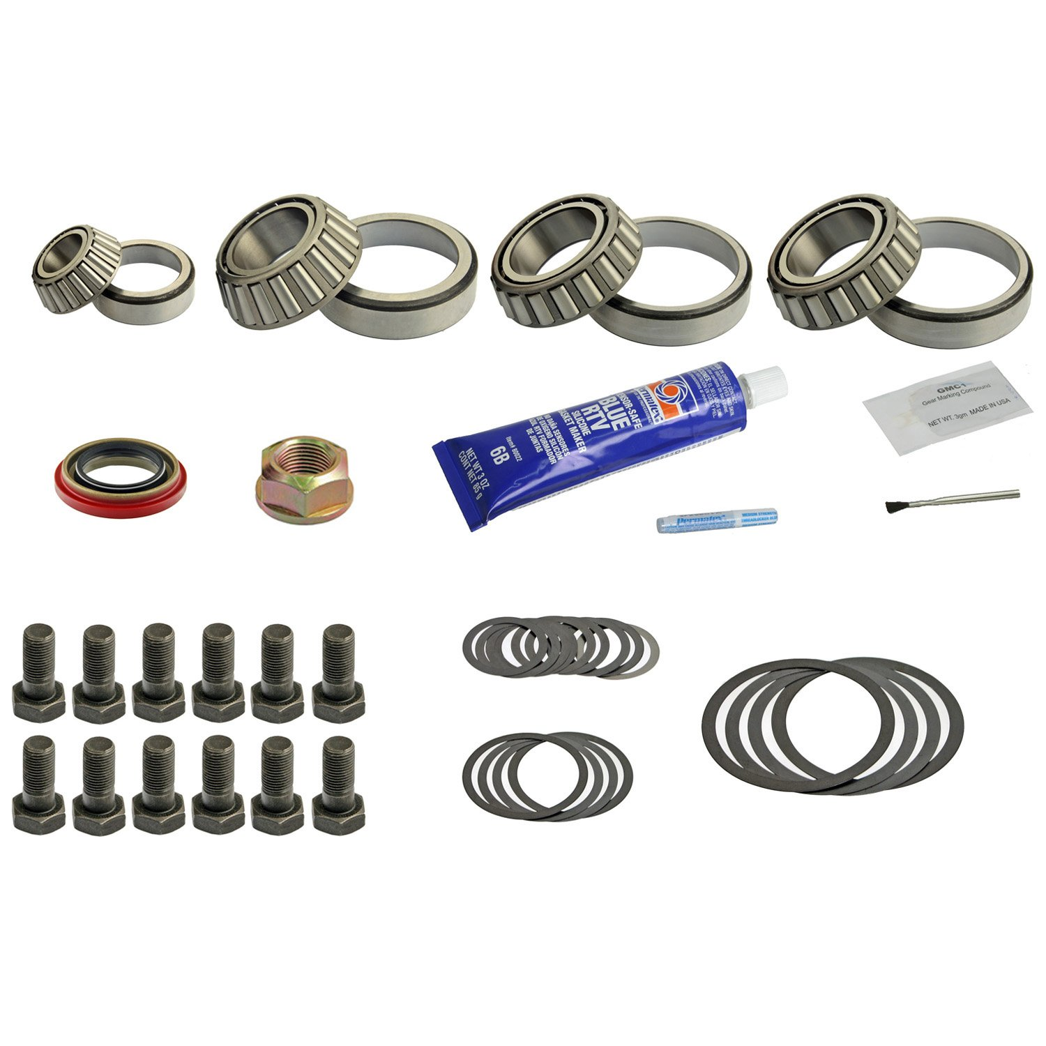 DRK332HDMK Dana 70HD Master Timken Differential Bearing Kit DT COMPONENTS
