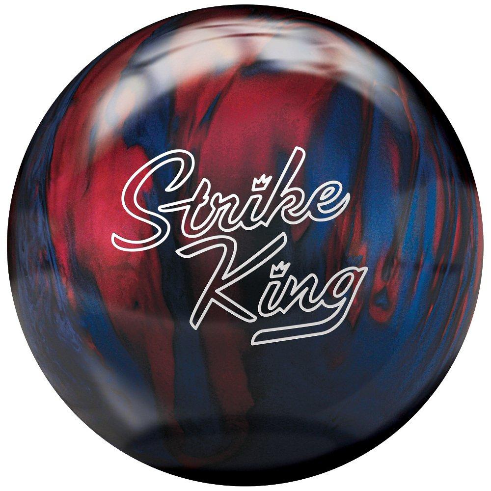 Brunswickストライクキングボウリングball-ブルー/レッドパール 10lbs 10lbs B00CIYI39G B00CIYI39G, KMサービス:df704c57 --- gamenavi.club
