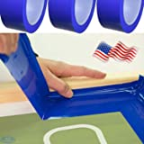 Screen Printing Block Out Tape /& Graphics Protection Blue Tape 12 Rolls 2x108ft Solvent and Water Resistant Easy Removable
