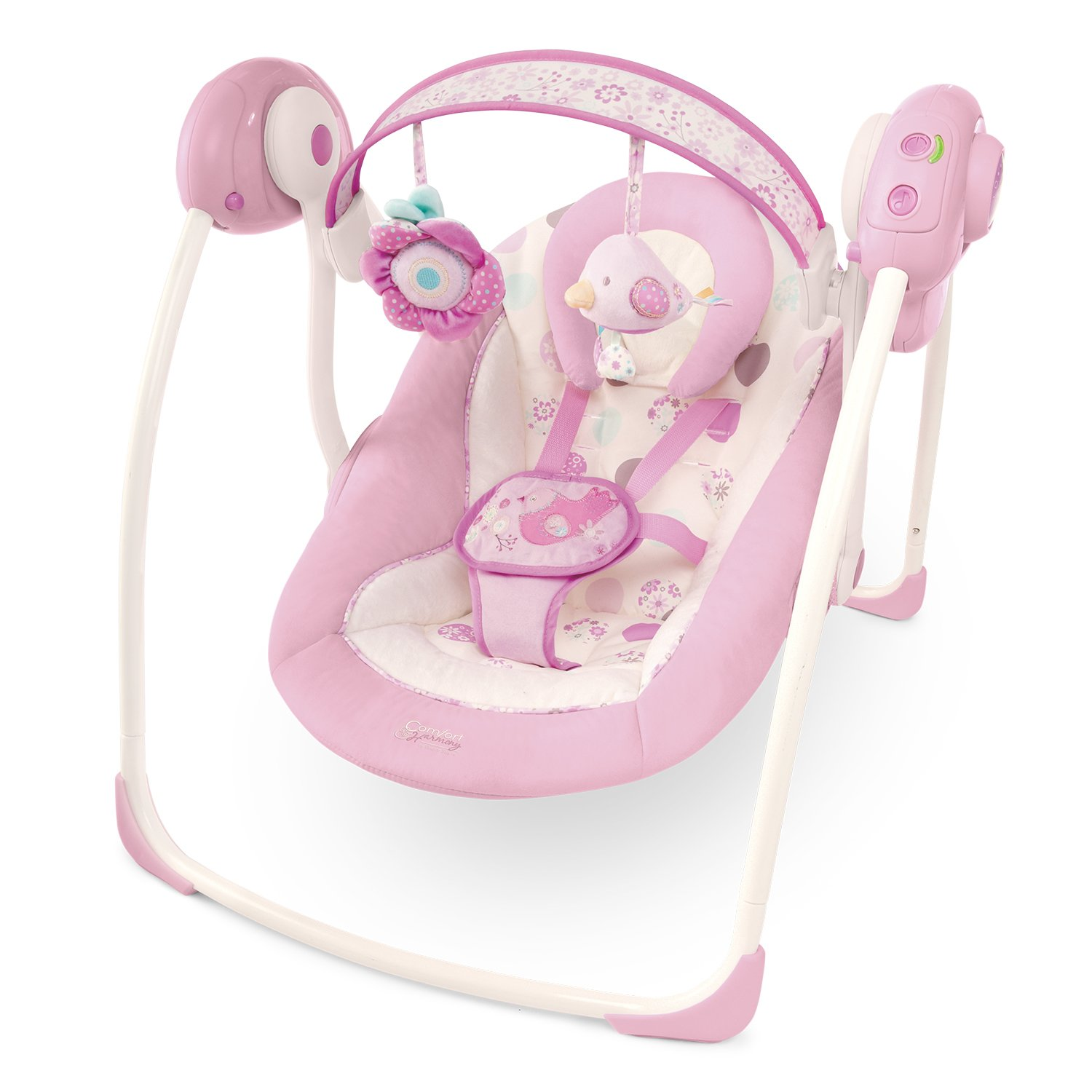 Superb Amazon.com : Bright Starts Comfort And Harmony Portable Swing, Florabella  (Discontinued By Manufacturer) : Stationary Baby Swings : Baby