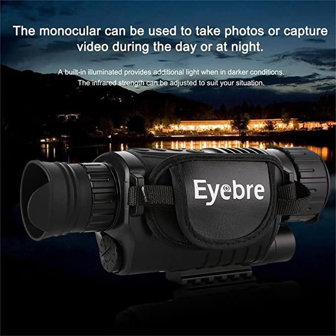 Telescopio de visión Nocturna infrarrojo monocular Night-Vision ...