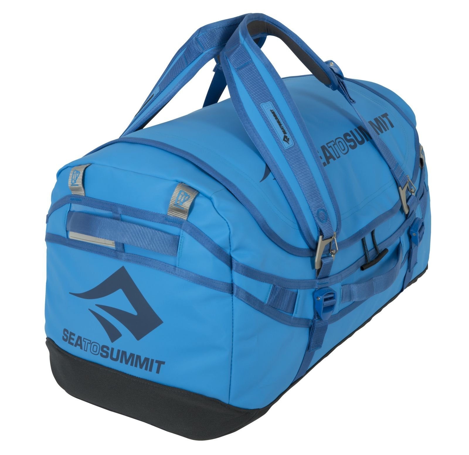 Sea to Summit Nomad Durable Travel Duffle & Backpack, Blue, 90 L