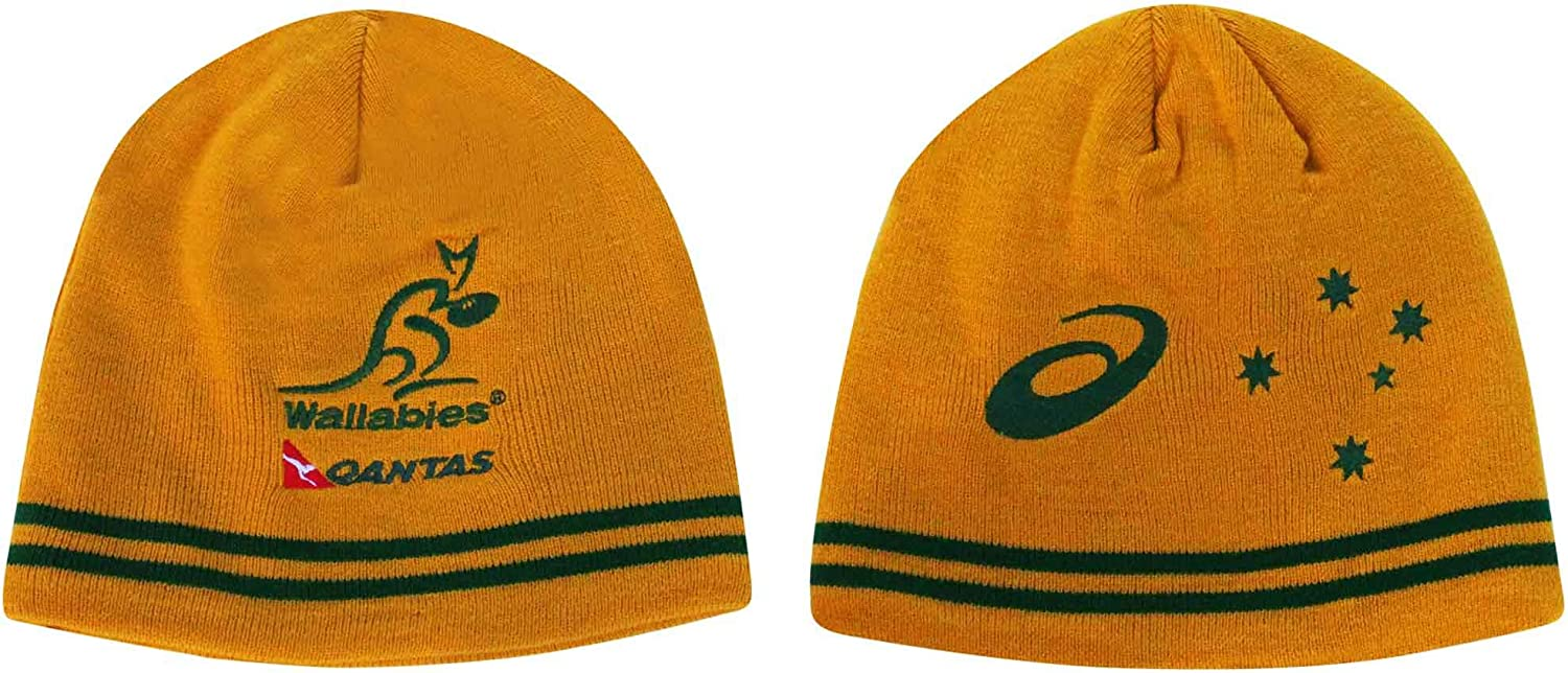 Wallabies Official Australia Rugby Fans Beanie Hat Adults