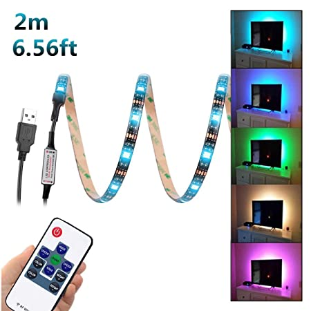 wentop usb led strip light656ft2m5v 5050 rgb led strip