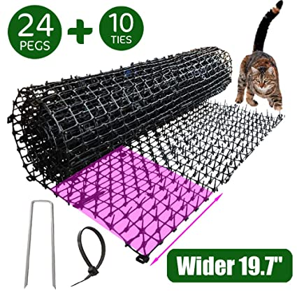 Amazon.com: Cat Scat Mat With Garden Spikes, Anti-cat ...