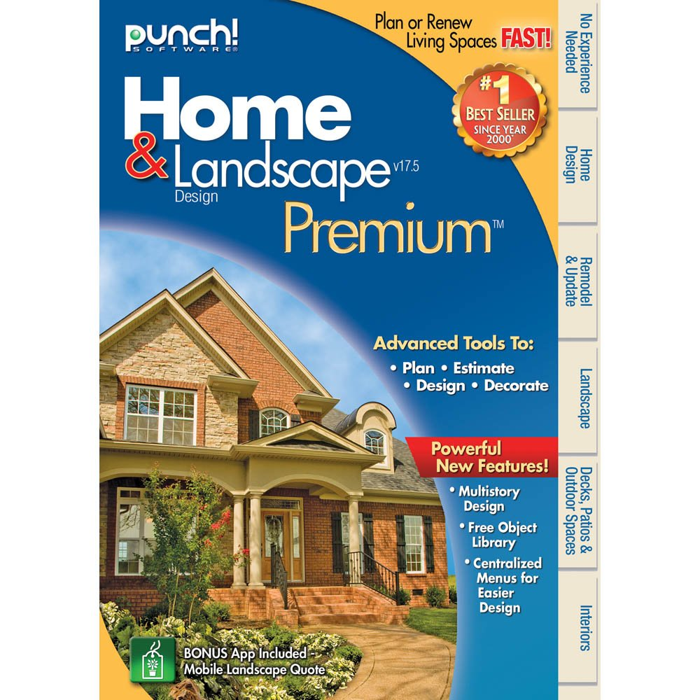 Lovely Amazon.com: Punch! Home U0026 Landscape Design Premium V17.5 [Download]:  Software