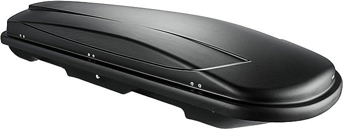 Vdp Dachbox Xtreme 400 Black Schwarz Universal Dachkoffer Autokoffer Reise Camping Abschließbar 400 Liter Auto