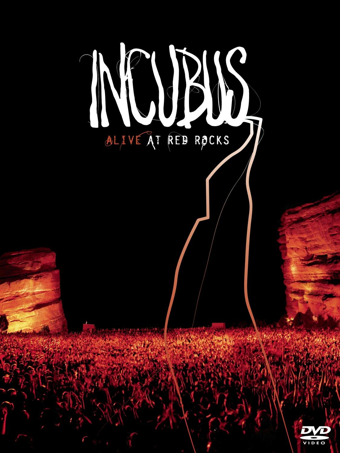 Incubus - Alive At Red Rocks - (DVD/CD combo in DVD digipak) by Sony