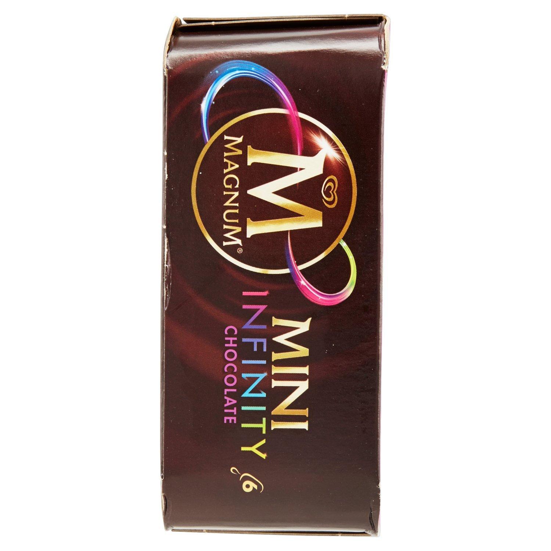Magnum Mini Infinity Chocolate Helado - Paquete de 6 x 60 ml - Total: 360 ml: Amazon.es: Alimentación y bebidas