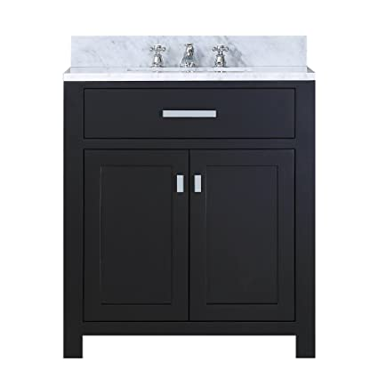 Bathroom vanities 30 inch Gray Image Unavailable Amazoncom Water Creation 30e Single Sink Bathroom Vanity From The Madison