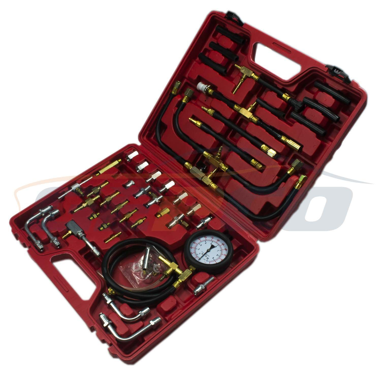 Testeur de pression essence systè me d'injection Testeur de compression 0– 8 bar 120PSI GEPCO Advanced Technology