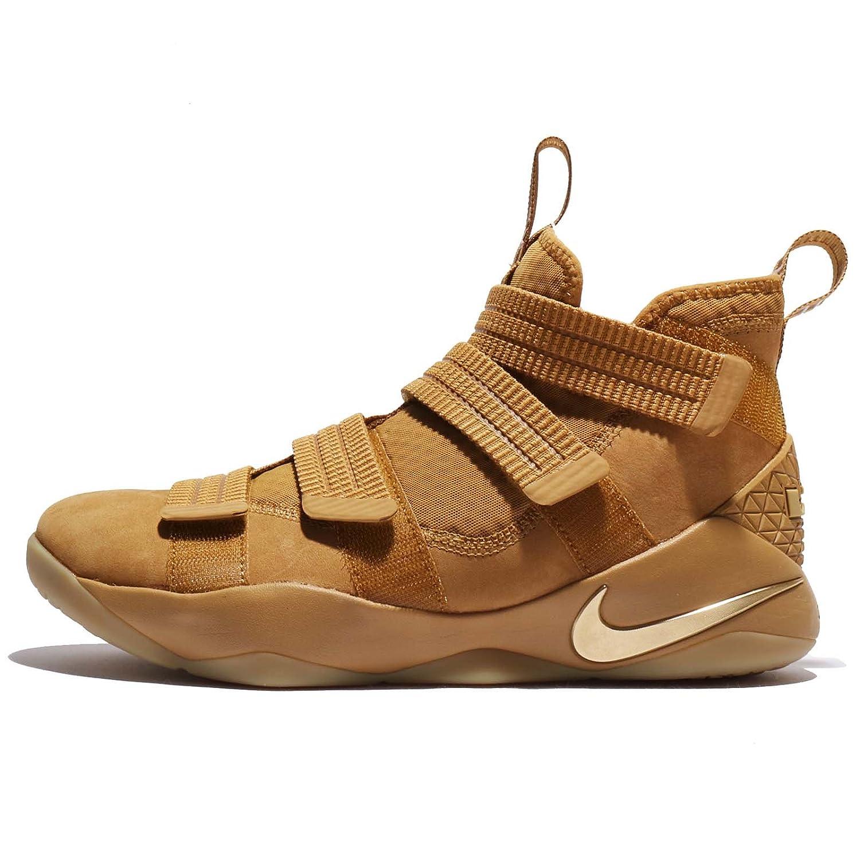 (ナイキ) レブロン ソルジャー XI SFG EP メンズ バスケットボール シューズ Nike Lebron Soldier XI SFG EP 897647-700 [並行輸入品] B075NG95T3 27.5 cm WHEAT GOLD/METALLIC GOLD