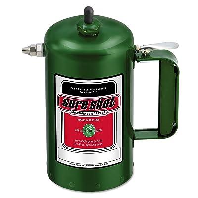 Milwaukee Sprayer 1000G Enameled Steel Sprayer Model-A Green, 1 quart: Home Improvement