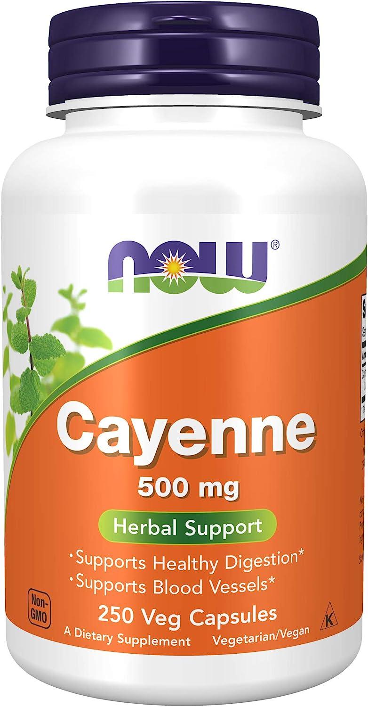 Cayenne (500mg) 250 caps