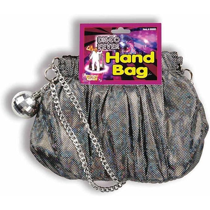 8f670860460 Image Unavailable. Image not available for. Color  Forum Novelties Disco  Handbag Purse ...