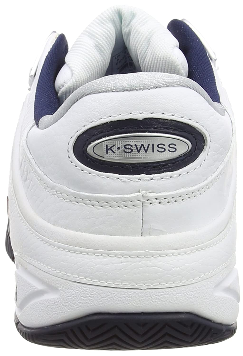 K-Swiss Defier RS Mens Tennis Shoes US10 White//Blue//Red
