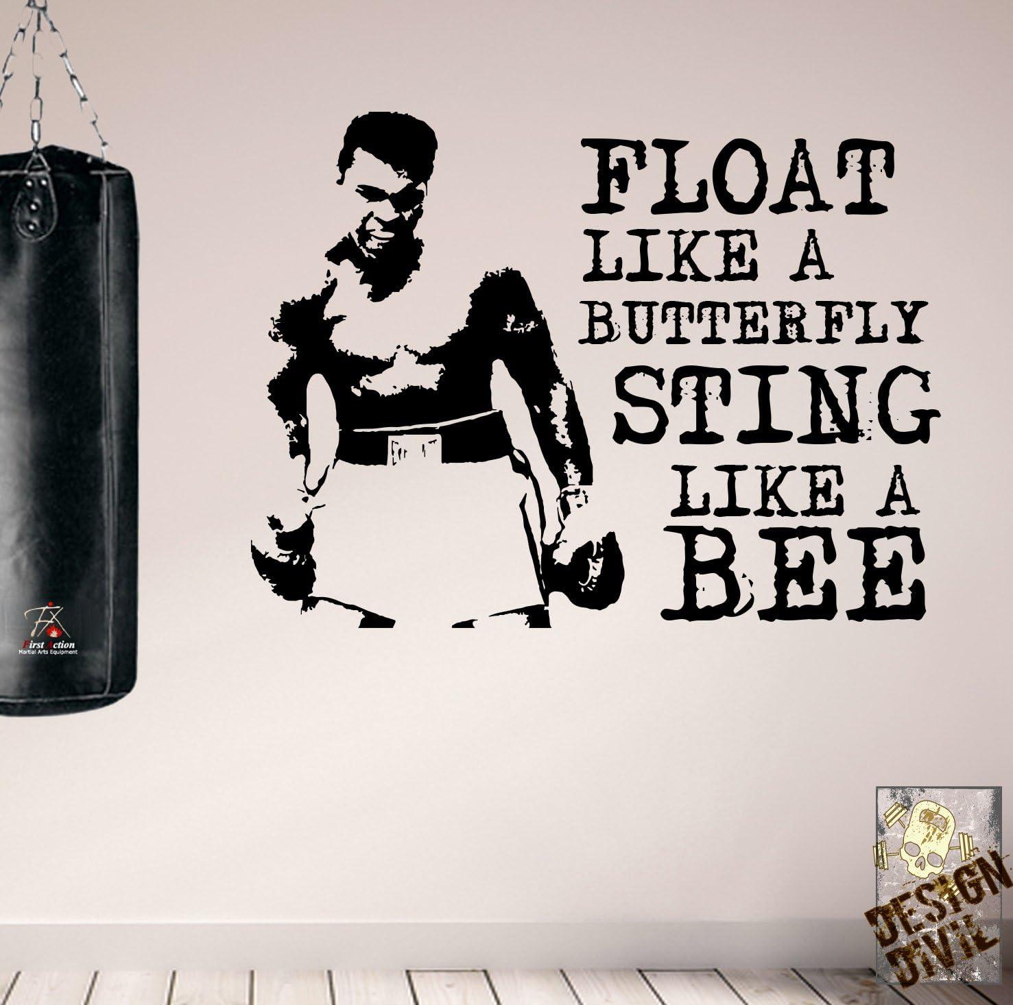 Pro diseño de Muhammad Ali de motivación con imagen de deporte ...