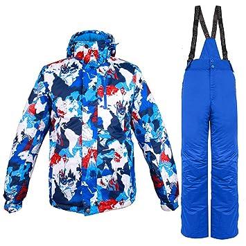 Gski Hombre Chaqueta Y Pantalones De Esquí Resistente Al ...