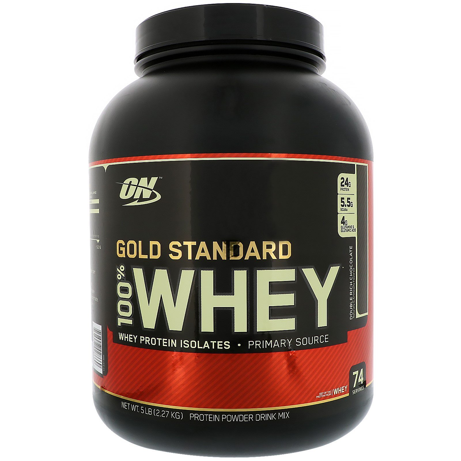 Optimum Nutrition Gold Standard 100% Whey Protein 6LBS|Chocolate