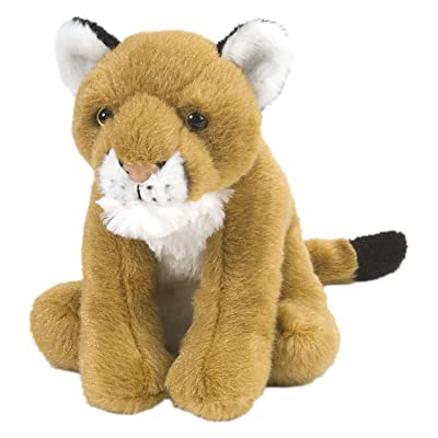 Wild Republic Mountain Lion Plush, Stuffed Animal, Plush Toy, Gifts for Kids, Cuddlekins, 8 Inches: Toys & Games