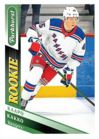 the Rangers Top Draft Pick and #2 Overall New York Rangers 2019 2020 Upper Deck Factory Sealed 10 Card Team Set Featuring Rookie Card #300 of Kaapo Kakko