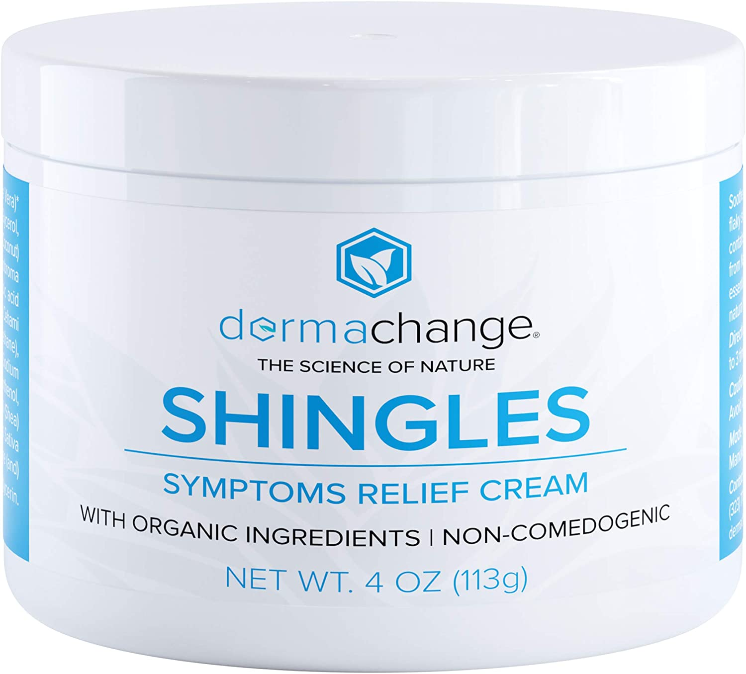 DermaChange Organic Shingles Symptoms Relief Cream