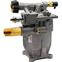 PEGGAS - Horizontal Pump - 3/4€œ Shaft - 2600-2800 PSI - 2.3 GPM - Replacement Pump - New - Aluminum Head - Premium - Pressure Washer Pump - Power Washer - Axial