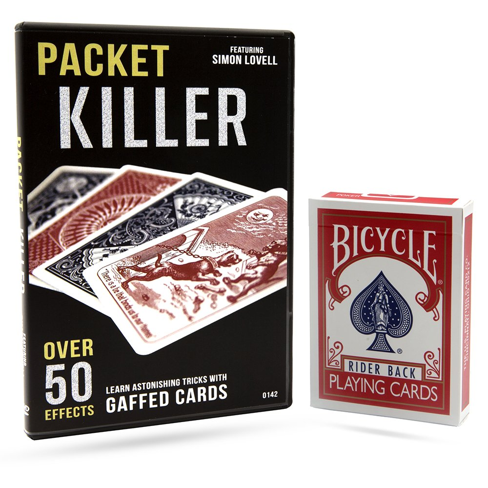 Packet Killer 45 Tricks with Special Bicycle Deck by Magic Makers (Image #3)