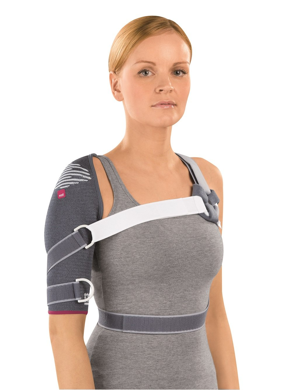 Omomed Knit Shoulder Support Left (Silver) 1