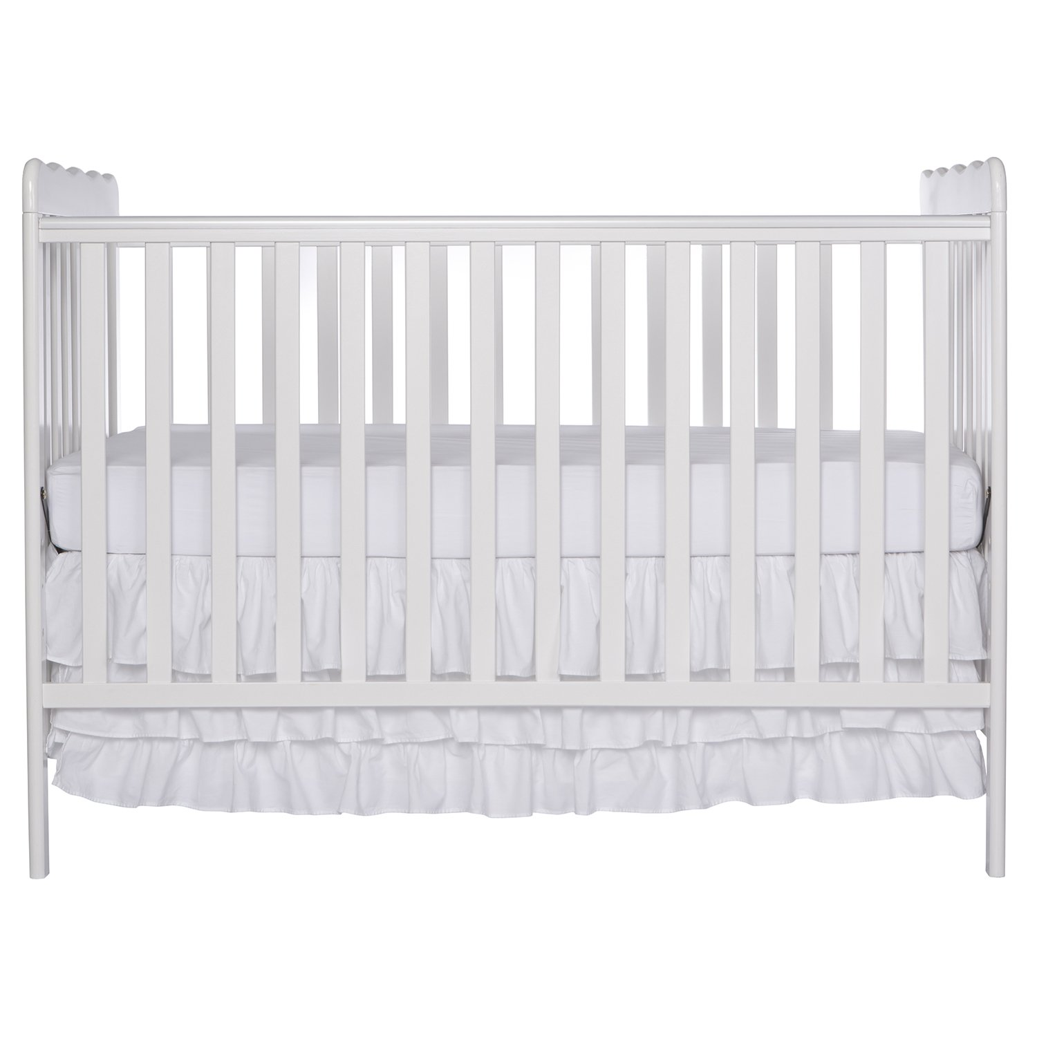 Dream On Me, Classic  3 in 1 Convertible Crib, White