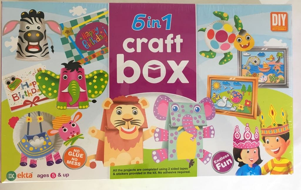 Buy Plugin Solutions 6 in 1 Craft Box Online at Low Prices