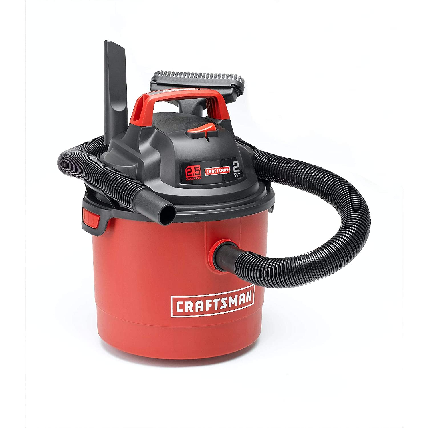 Craftsman 2.5 Gallon 2 Peak HP Wet Dry vac Wall Mount