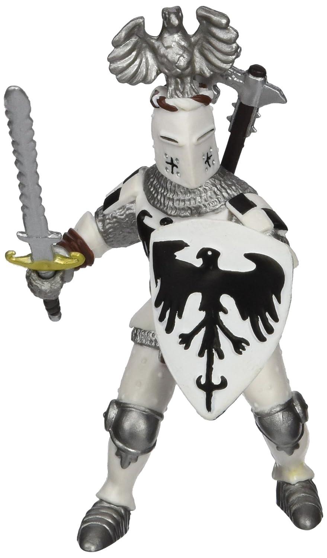 Papo White Crested Knight Figure Multicolor 39785