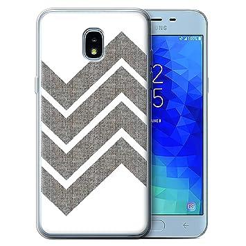 eSwish Carcasa/Funda TPU/Gel para el Samsung Galaxy J3 ...