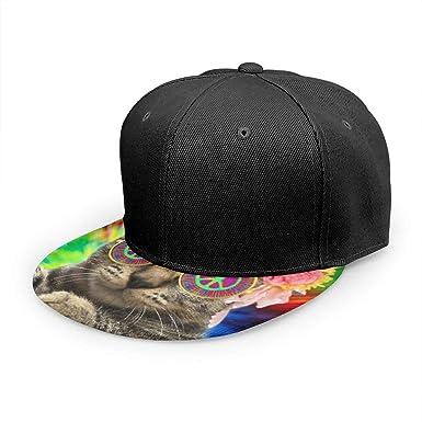 Gorra de béisbol con diseño de Gato Hippie, Corbata de Gatito y ...