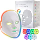 YOOVE LED Face Mask - 7 Colors Including Red Light Therapy For Healthy Skin Rejuvenation | Home Light Therapy Facial…
