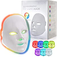 YOOVE LED Face Mask - 7 Colors Including Red Light Therapy For Healthy Skin Rejuvenation...