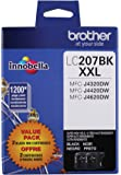 Brother Printer LC2072PKS Multi Pack Ink Cartridge, Black - Pack of 2