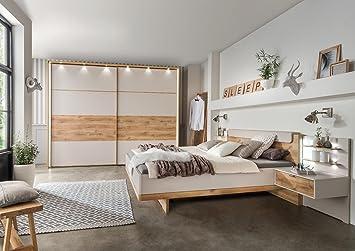 Lifestyle4living Schlafzimmer Schlafzimmerset Schlafzimmermöbel